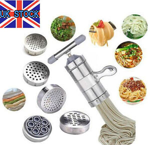 Stainless Steel Manual Pasta Spaghetti Noodle Machine Fruit Juicer Press Maker T