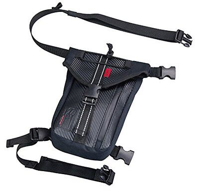 Komine bike for a waist bag waterproof Reggubaggu black (2.2L) 09-211 SA-211