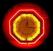 RARE Neon Clock