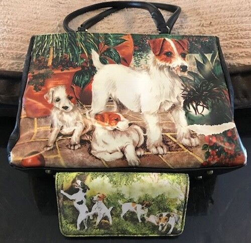 Jack Russell Handbag and Wallet