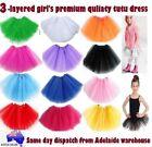 Satin Pettiskirt Skirts for Girls
