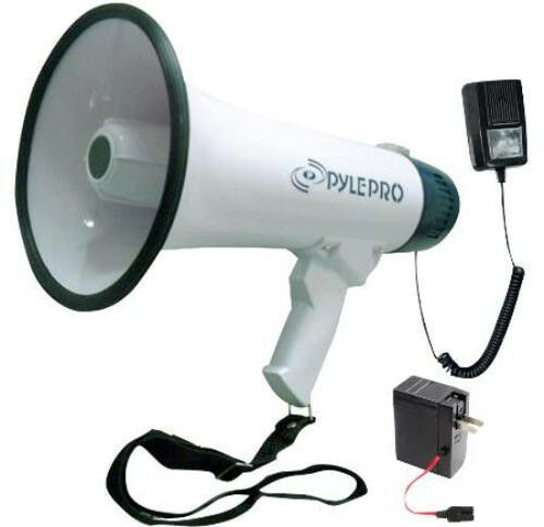 NEW 40w Handheld Megaphone.Loud Speaker.Bull Horn.Crowd Control.Event Sound Mic.