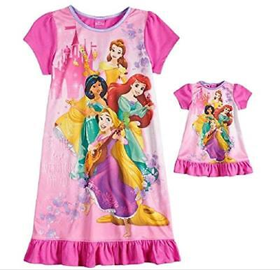 Disney Princesses 'Best Version' Silky Pink Nightgown Doll Gown, Size