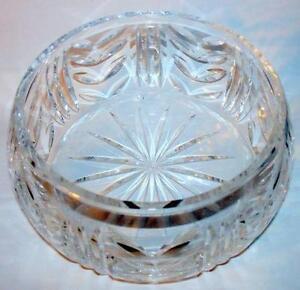 Cut Crystal Bowl Ebay