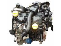 RENAULT CLIO MODUS 1.5 DCI ENGINE INC FUEL PUMP, INJECTORS, K9K 766/768 39,000