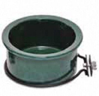 Parrot Pet Bird Cage 2 Ceramic Food Water Bowl 24oz.