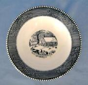 Currier and Ives Cereal Bowls