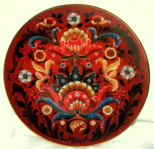 Norwegian Rosemaling Art Ebay