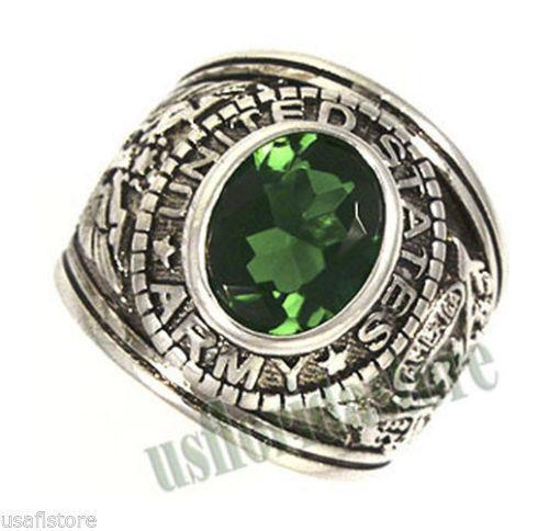 mens green emerald ring ebay. Black Bedroom Furniture Sets. Home Design Ideas