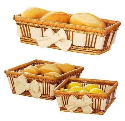 Serving Basket Set Cupcake & Cookies Basket, Gift Basket Natural Fern