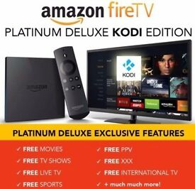****Amazon Fire TV BOX / KODI 17.3 + KODI NO LIMITS ****