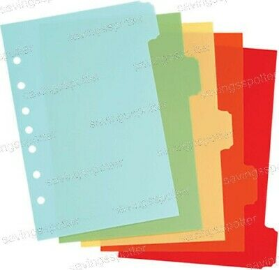 Martha Stewart Small-format Plastic Dividers Assorted Classic 5-12 X 8-12