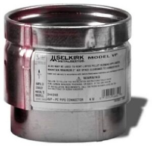 Selkirk 3 Quot Pellet Stove Pipe Adapter Connector New Ebay