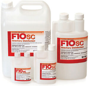 F10SC 200ml F10 Super Concentrate Disinfectant Birds Reptiles Cages Cleaner Vet