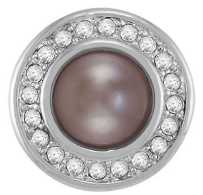 """Ginger Snaps Jewelry """"Brown Miss Pearl"""" SN31-03 Buy 4 Get One $6.95 Snap Free"""