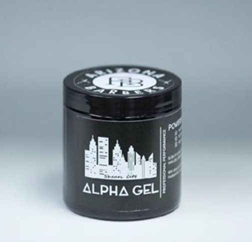 Alpha Gel Powerful Hair Gel, Water Based,No Flaking No Alcoh