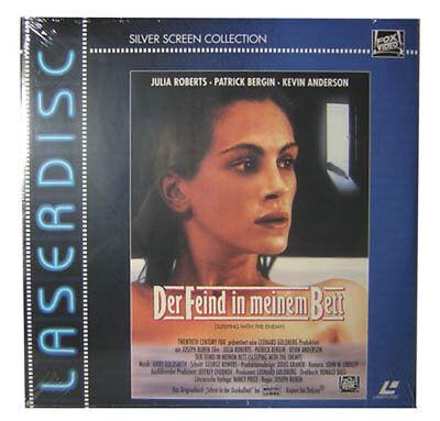 """Laserdisc (LD)"""" Der Feind in meinem Bett """" FOX Video Film Movie NEU"""