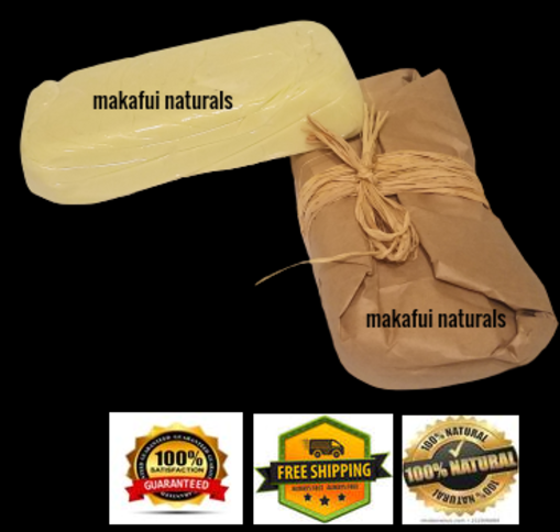 ORGANIC IVORY SHEA BUTTER  - PURE 100% RAW UNREFINED NATURAL