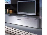 Gloss Tv cabinet new 100cm width