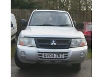 2004 Shogun - Need Gone - Spares or Repair - The Injector pump has gone