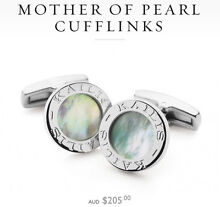 Kailis Mother of Pearl Cufflinks Wembley Downs Stirling Area Preview