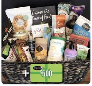 Win up to $2000 worth of health food prizes & gift cards