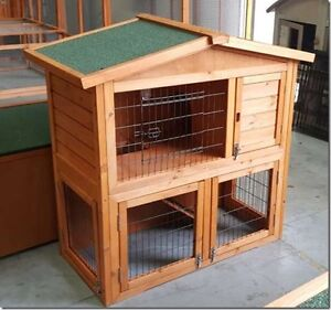 Brand new Good Quality Gable Roof Rabbit Hutch, Guinea Pig Hutch, Osborne Port Adelaide Area Preview