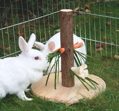 Futterbaum Futterhalter Gemüsehalter Kaninchen Nager Gemüseraufe Futterspender
