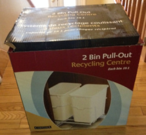 Recycling Centre.  2 Bin pull-out