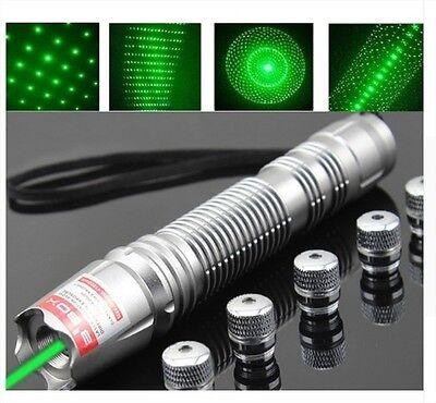 Powerful Green Laser Pointer Adjustable Lazer Pen 10w 12000 Meters