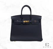 Hermes Birkin 25 2Z BLEU NUIT TOGO Handbag Melbourne CBD Melbourne City Preview