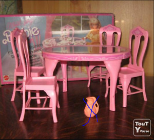 table de cuisine barbie