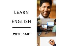 FREE TRIAL English Lessons - Book with Saif (Face-to-face or Online)