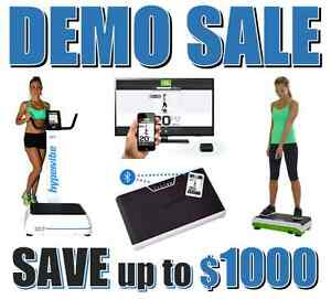 SAVE on Premium Vibration Plates DEMO CLEARANCE