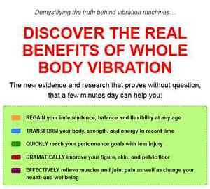 HyperVibe G17 whole body vibration machine Cambridge Kitchener Area image 4