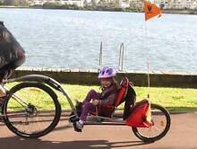 Wee Hoo I Go bike trailer in great condition. Sydney Inner West Croydon Burwood Area Preview