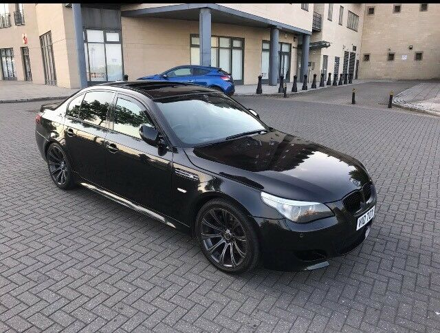 bmw e60 m5 smg saloon v10 507 bhp smg in met sapphire black may px or swap in wallsend tyne. Black Bedroom Furniture Sets. Home Design Ideas