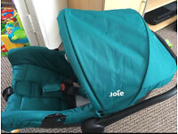 Joie 0+ car seat in juniper Brand new