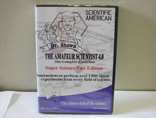 THE AMATEUR SCIENTIST ON CD-ROM - LATEST EDITION, VERSION 4 (M2071)