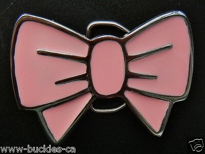Пряжки Pink Cool Metal Bow Tie