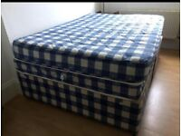 Doble bed (mattress and base)