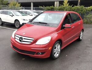 2008 Mercedes-Benz B-Class Turbo Turbo no accidents Red mint Tur