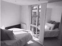 Bright modern double bedroom to share with 1 gay male in a modenr flat in Stockwell