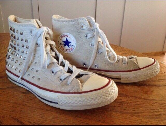 Girls' Converse Chuck Taylor All Star High Top Metal
