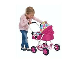 Girls dimples Molly pram age 2-4 years