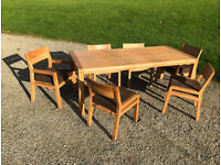 Habitat Radius Dining Table and 8 Chairs beautifully crafted design classic