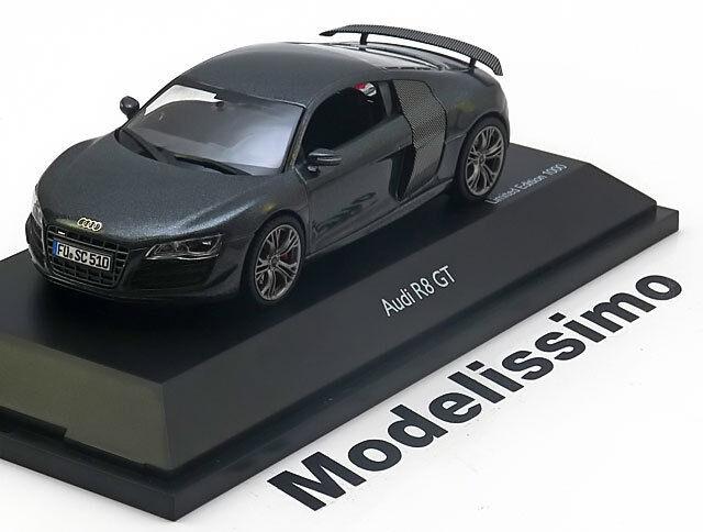 1:43 Schuco Audi R8 GT 2010 greymetallic