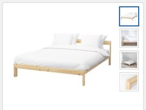 Bed and slats
