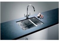 Blanco claron 340/180 u Left hand sink