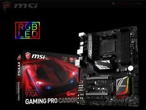 MSI 970a Gaming Pro Carbon Motherboard AM3+